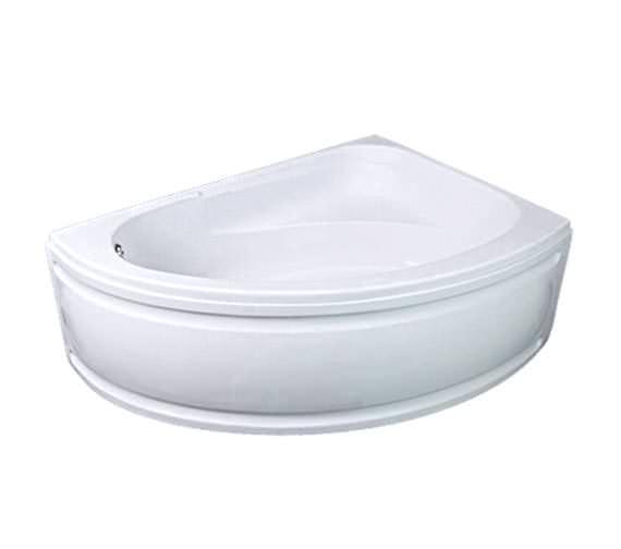 Trojan Orlando White Left Handed 1500x1020mm Offset Corner Bath With Panel