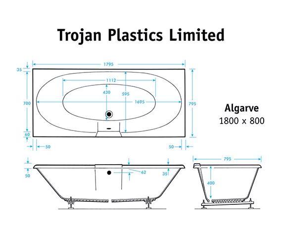 Technical drawing QS-V397 / Trojan - QS-397