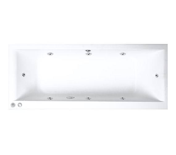 Trojan Elite 1700 x 700mm Whirlpool Bath 8 Jets