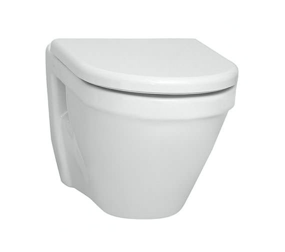VitrA S50 Wall-Hung Short Projection WC Pan With Seat - 5320L003-0075