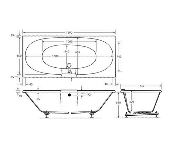 Technical drawing QS-V999963 / Trojan - QS-999963
