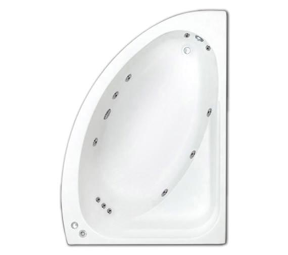 Trojan Orlando Right Handed Whirlpool Corner Bath - 1495 x 1020mm