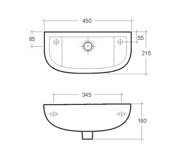 Technical drawing QS-V36336 / COMSLWB1LH