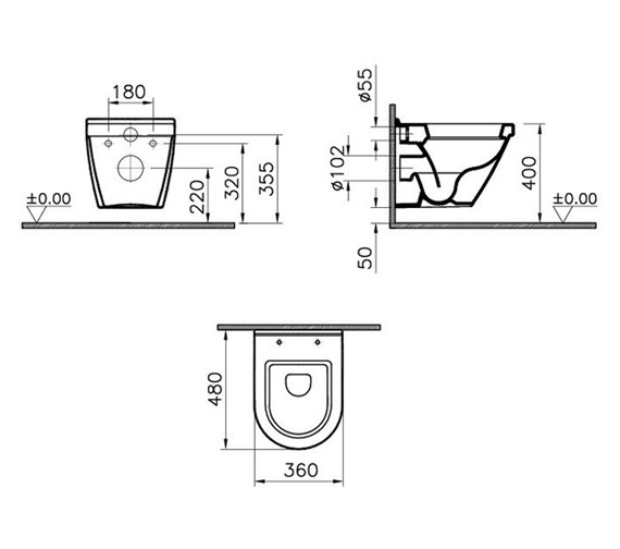 Technical drawing QS-V59708 / 5320L003-0075