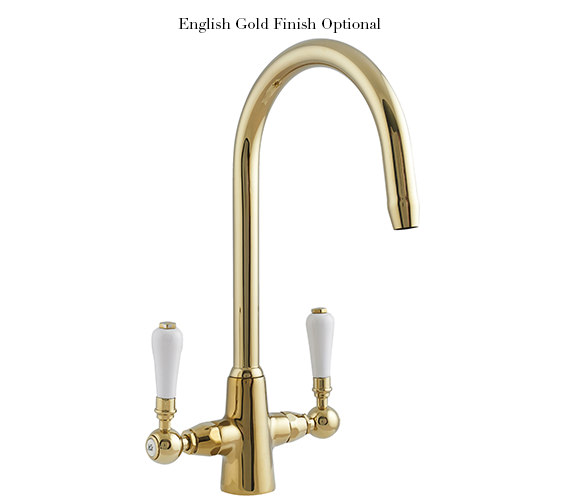 Alternate image of Astracast Colonial Monobloc Twin Lever Kitchen Sink Mixer Tap