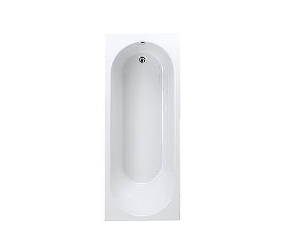 Trojan Cascade White Single Ended Bath 1700 x 700mm