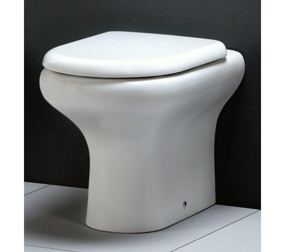 Rak Compact Back To Wall Wc Pan With Soft Close Toilet Seat 510mm