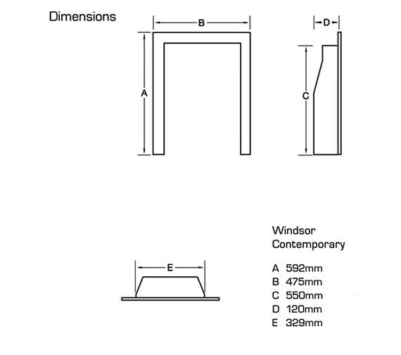 Technical drawing QS-V39753 / FSRCU0MN