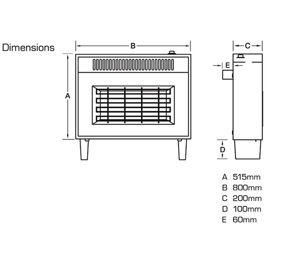 Technical drawing QS-V39813 / FORMT0EN