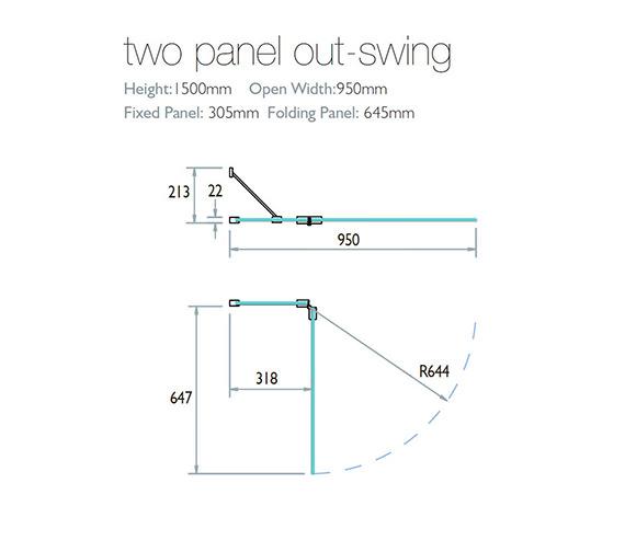 Technical drawing QS-V28807 / 4BASC2PFOUTLHS