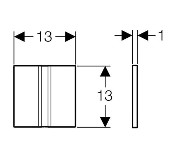 Technical drawing QS-V51852 / 116.036.GH.1