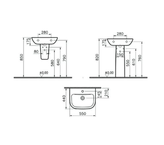Technical drawing QS-V59714 / 5502L003-0999