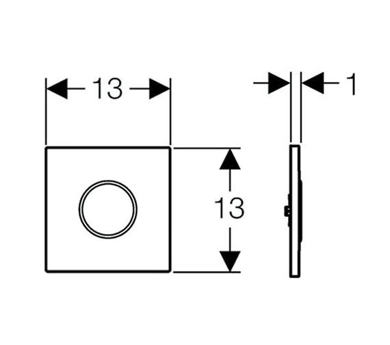 Technical drawing QS-V51854 / 116.025.KH.1