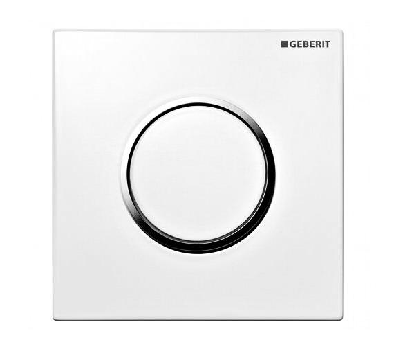 Geberit Sigma10 HyTouch Pneumatic Urinal Flushing Control White - 116.015.KJ.1