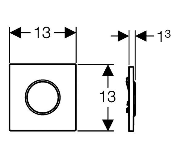 Technical drawing QS-V51855 / 116.015.KJ.1