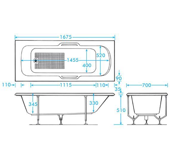 Technical drawing QS-V59894 / B1366