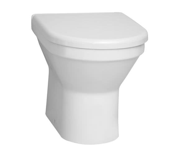 VitrA S50 Back-To-Wall WC Pan With Toilet Seat - 5323L003-0075