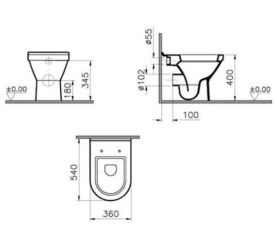 Technical drawing QS-V59706 / 5323L003-0075