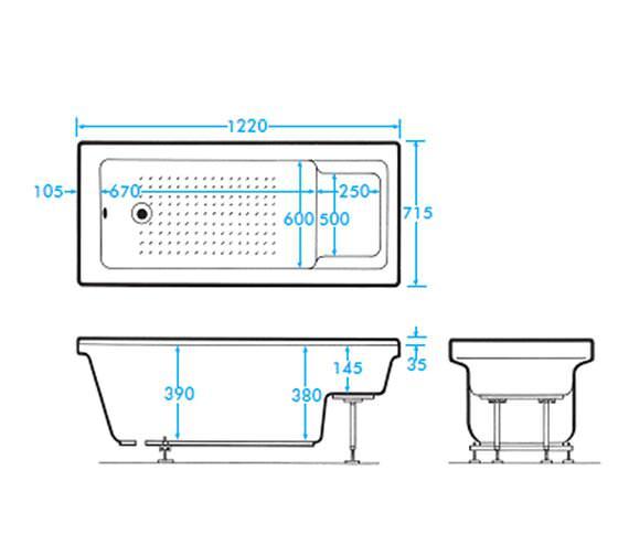 Technical drawing QS-V59900 / AB0240