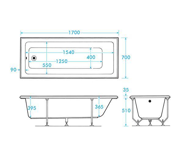 Technical drawing QS-V59901 / AB0395