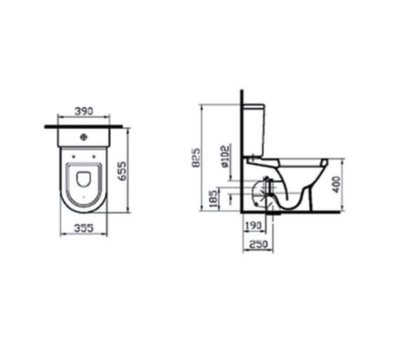 Technical drawing QS-V59702 / 5332L003-7200