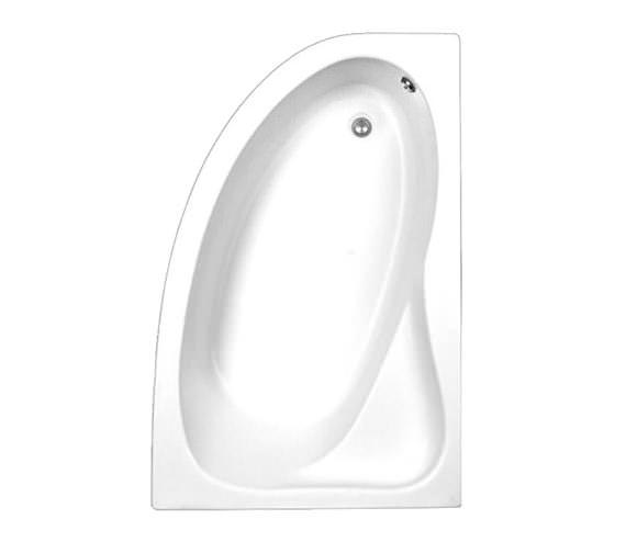 Trojan Classic White Right Hand Offset Corner Bath 1535 x 1005mm
