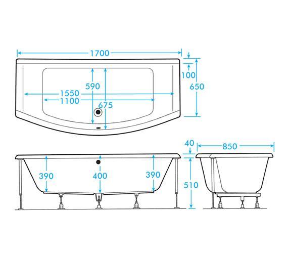 Technical drawing QS-V59908 / AB0557