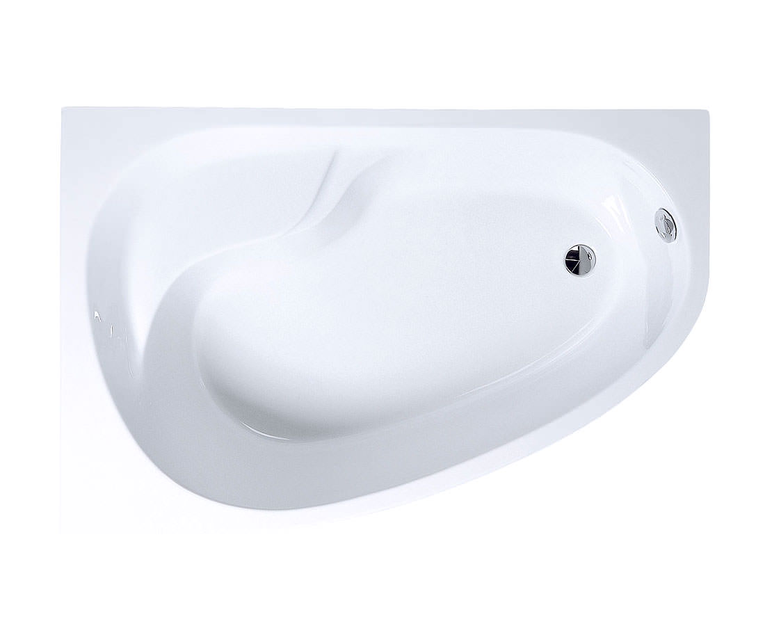 VitrA Optima Right Hand Offset Bath 1500 x 1000mm - 50790002000