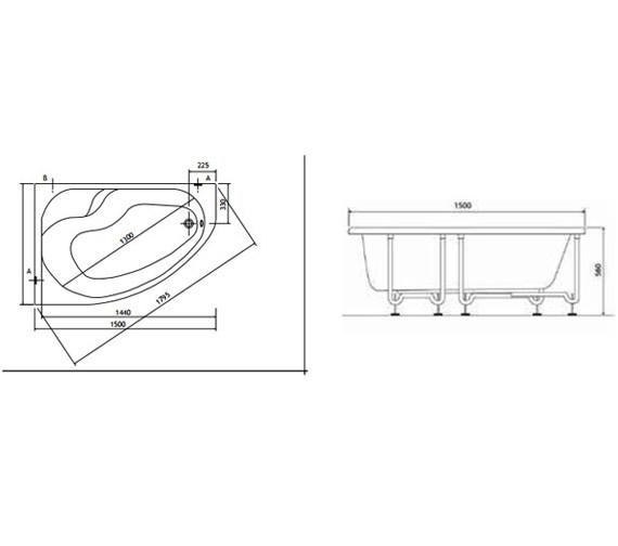 Technical drawing QS-V0022 / 50790002000