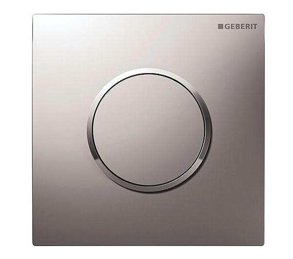 Geberit Sigma10 HyTouch Pneumatic Urinal Flushing Control Matt Chrome