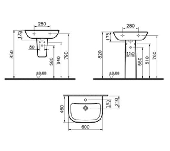 Technical drawing QS-V59715 / 5503L003-0999