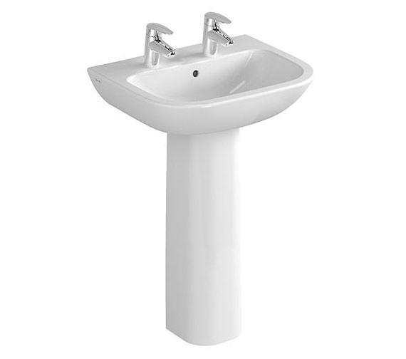 Additional image of VitrA S20 1 Tap Hole Basin 65cm - 5504L003-0999