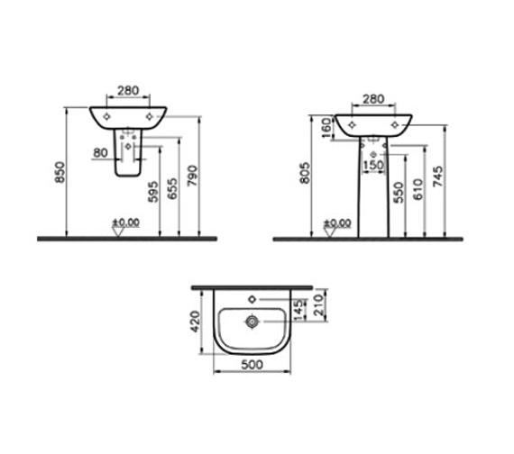 Technical drawing QS-V59713 / 5501L003-0999