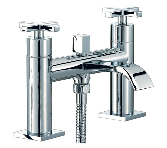 Mayfair Surf Bath Shower Mixer Tap With Shower Kit Chrome - RDX007