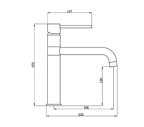 Technical drawing QS-V31226 / KIT015