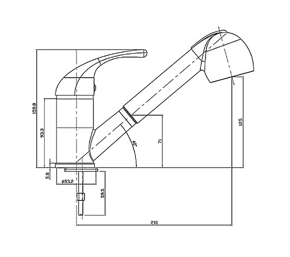 Technical drawing QS-V31231 / KIT007