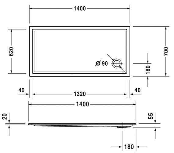 Technical drawing QS-V63222 / 720124000000000