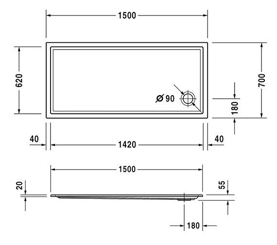 Technical drawing QS-V63225 / 720127000000000
