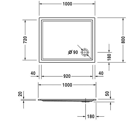 Technical drawing QS-V63217 / 720119000000000