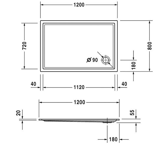 Technical drawing QS-V63219 / 720121000000000