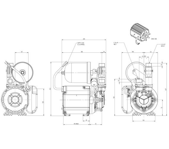 Technical drawing QS-V72894 / 46498