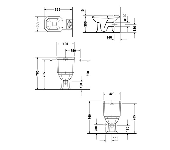Technical drawing QS-D19308 / 0227090000