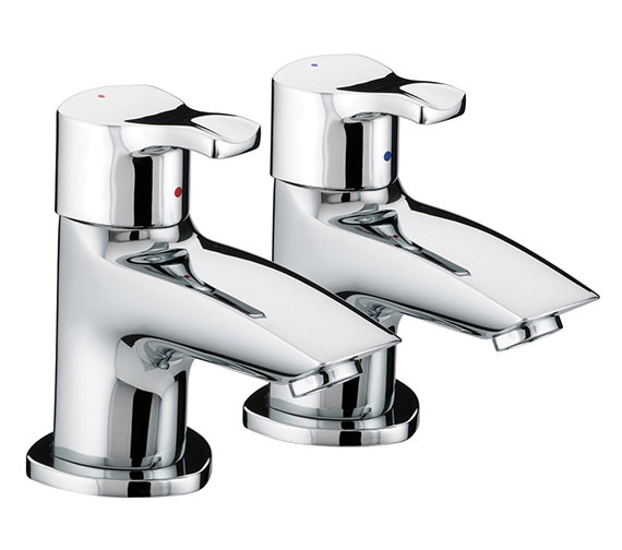 Bristan Capri Bath Taps Chrome Plated - CAP 3-4 C