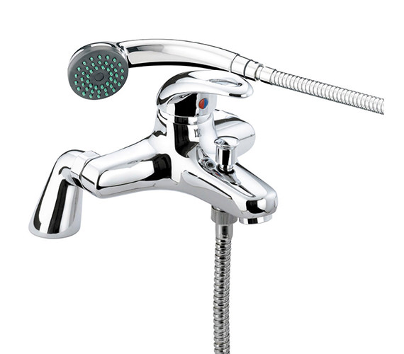Bristan Java Pillar Bath Shower Mixer Tap With Kit - J PBSM C