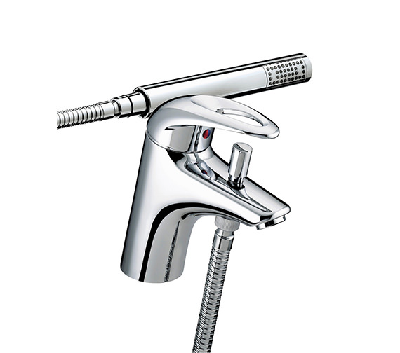 Bristan Java 1 Hole Bath Shower Mixer Tap With Kit - J 1HBSM C