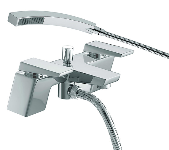 Bristan Sail Bath Shower Mixer Tap Chrome - SAI BSM C