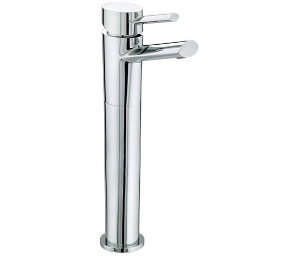 Bristan Oval Tall Chrome Basin Mixer Tap - OL TBAS C