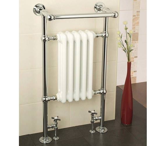 Alternate image of Apollo Ravenna Plus Traditional Towel Warmer 510 x 955 - BJR4