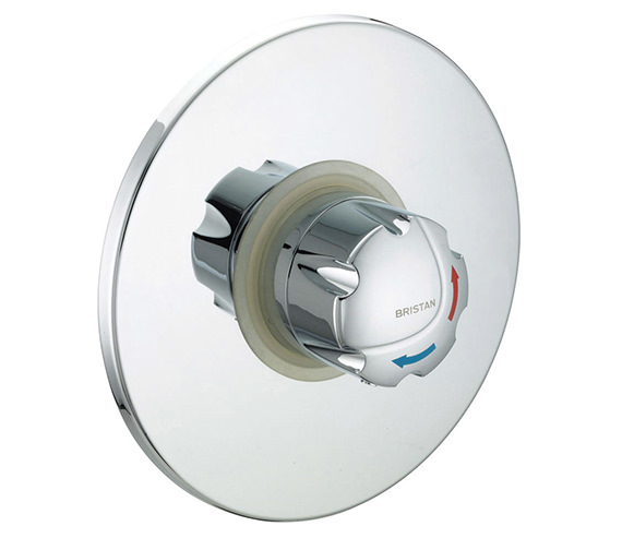 Bristan Gummers Opac Thermostatic Concealed Shower Valve With Chrome Handwheel