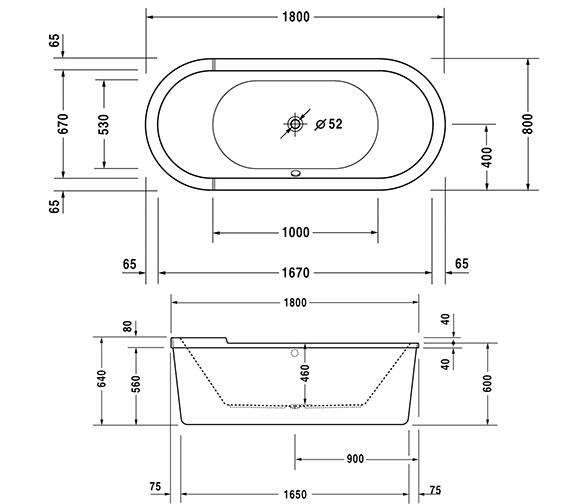 Technical drawing QS-V63240 / 760010000JS1000